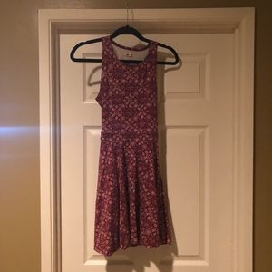 Hollister Print Jersey Dress - Size Small